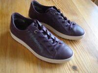 Ladies Ecco shoes purple size 38