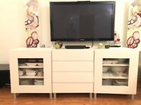 White sideboard/ cabinet