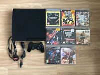 Playstation 3 320 GB with games