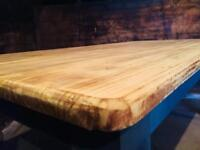 Large Farmhouse Pine Kitchen Dining Table
