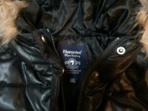 Girl's  Black Dressy Bluenotes Winter Jacket EUC Meduim Cambridge Kitchener Area image 2