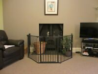 BabyDan Fire Guard Hearth Gate Room divider playpen as new excellent condition