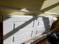 Solid wood doors x2