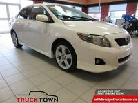 2010 Toyota Corolla XRS, Local Trade From Lethbridge