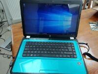 Hp pavilion g6 laptop. Windows 10. 15.6 inch Hdmi. HD graphics