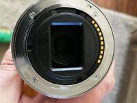 Sony 55-210 mm f4.5-f6.3 E Mount zoom lens