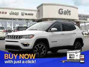 2018 Jeep Compass LIMITED 4X4 | NAV SUNROOR LEATHER