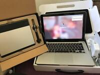 MacBook Pro 13.3 and Graphics Tablet (2014)