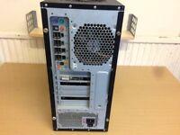 Antec ATX Gaming Desktop, Gigabyte GA-X38 Motherboard, 250 GB Hard Drive, 2 GB Ram, 550W P.Supply.