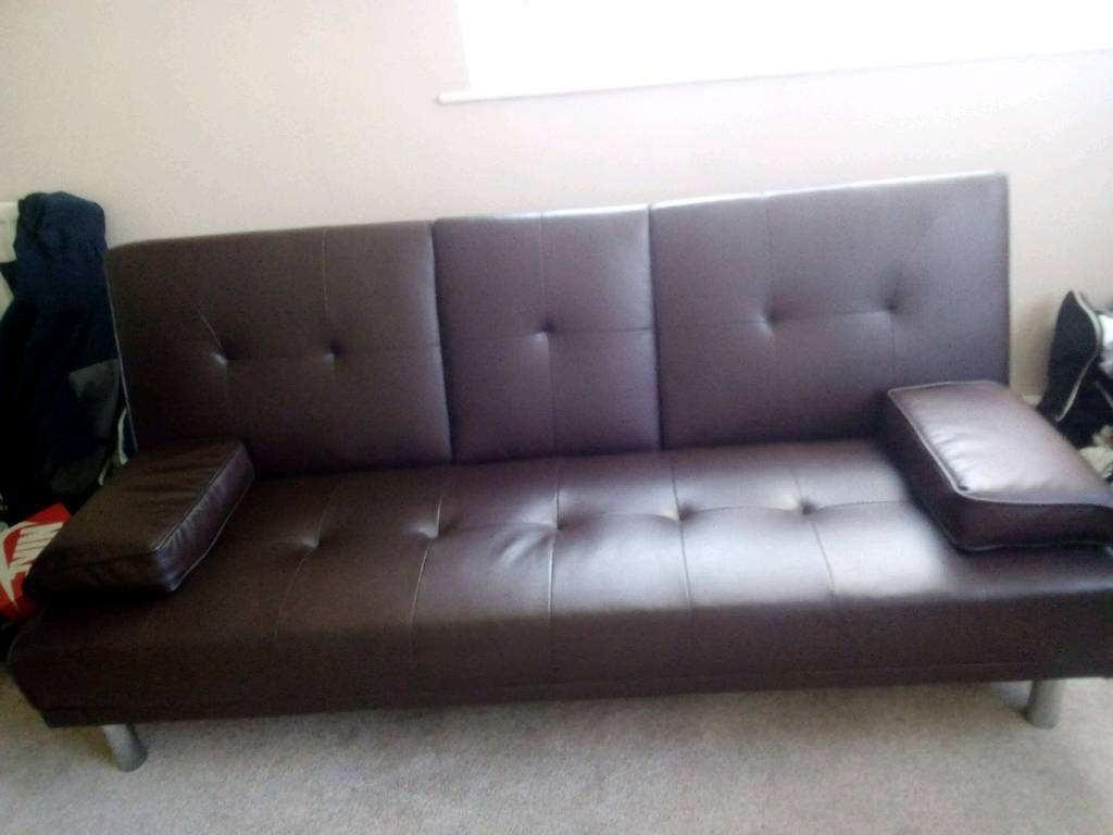 Outstanding Brown Leather Cinema Sofa Bed Bargain 70 No Offers In North Shields Tyne And Wear Gumtree Squirreltailoven Fun Painted Chair Ideas Images Squirreltailovenorg