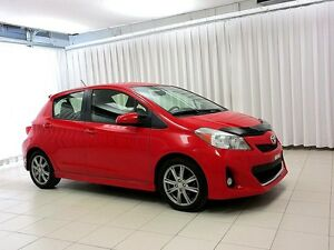 2012 Toyota Yaris SE 5DR HATCH w/ BLUETOOH, A/C, AND ALLOY WHEEL