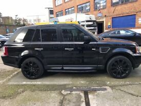 Range rover sport 2008 genuine low mileage lady driver