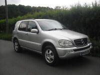 Mercedes ML 270 CDI automatic, air con, long MOT, service history