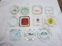 Collection of rare ashtrays