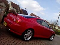 2004 Hyundai Coupe SE in Red - 5-speed Manual - In very Good condition