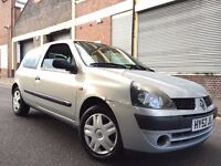 Renault Clio 2003 1.2 Authentique 3 door 3 OWNERS, GREAT SMALL CAR, BARGAIN
