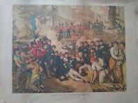 Original print of the death of lord nelson