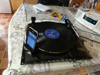 ION PROFILE LP Turntable top of the range built-in ipod dock for direct Tranfer !!!! Reduced