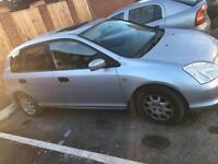 Honda Civic 1.4 2001 Hatchback Silver