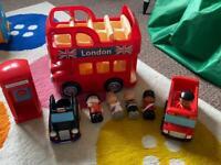 Happyland London set