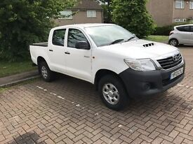 Toyota Hilux Double cab Pick up *13 plate* Excellent condition *Low Mileage*