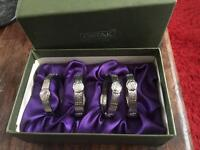 ORTAK PEWTER NAPKIN RINGS CHARLES RENNIE MACKINTOSH