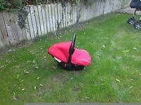 Baby car seat 0-6m