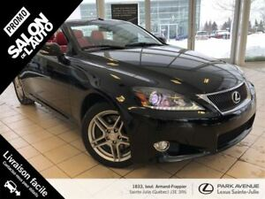 2012 Lexus IS350C Special Edition + GPS + Cuir Rouge + Mark Levi