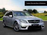 Mercedes-Benz C Class C63 AMG (silver) 2013-09-30