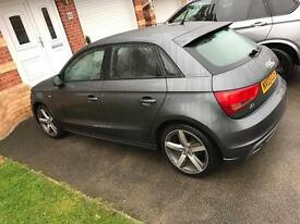 Audi 1.6 S Line 62 plate,Daytona Grey Pearl Effect sure guard protected, heated seat.
