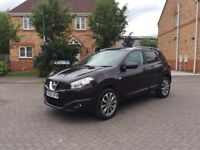 2013 NISSAN QASHQAI TEKNA, 12 MONTH MOT, 360 CAMERA, PAN ROOF, HPI CLEAR, CRUISE CONTROL