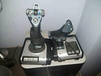 Saitek X52 flight joystick