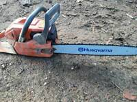 Husqvarna xp chainsaw