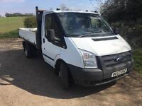 Ford transit tipper 2007/57