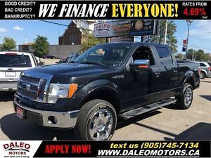 2010 Ford F-150 Lariat 4X4 LEATHER SUNROOF