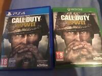 Call of duty world war 2 Xbox one/Ps4 £15 each