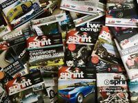 TVR Sprint Magazines