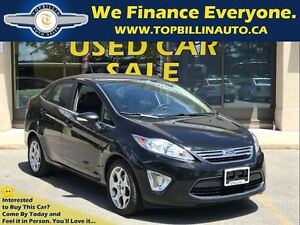 2011 Ford Fiesta SEL with LEATHER, ONLY 123 Kms