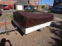 Raclet Azur 2 berth trailer tent
