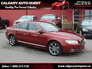 2011 Volvo S80 T6 Level 2 AWD/NAVIGATION/LEATHER/SUNROOF