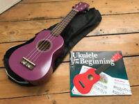 Beginner Purple Ukulele, Bag & Tuition Book – London EC2A / SE4