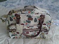 Ollie & Nic designer holdall/shoulder bag. New with tags