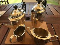 Tea, coffee, cream and sugar service