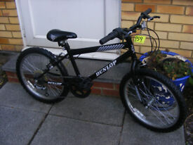 "BOYS 20"" WHEEL DUNLOP BIKE IN GREAT WORKING CONDITION AGE 7+"