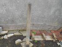 Concrete Fence posts x 2