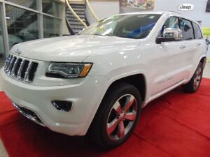 2016 Jeep Grand Cherokee OVERLAND*4X4*GPS*TOIT PANORAMIQUE*CUIR*