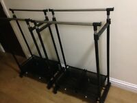 Argos clothes rails x2 RRP £29.99 each in selling two four £25 they also have bottom storage 😀