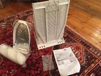 Wall-mounted Hafele folding ironing board