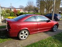 Vauxhall Astra 1.8 Bertone 16v (2005) two door coupe,only 68000 miles,long M.O.T 1 former keeper
