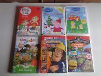Set of 6 Childrens DVD's